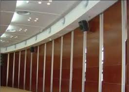 Accordion Room Dividers by China Manufacturer Aluminium Interior Sound Absorption Accordion