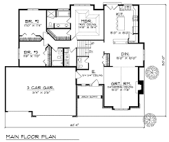 split level floor plan plan w89495ah spacious great room design e architectural design