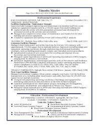 cover letter business management resume sample business operations