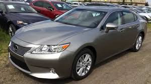 lexus es es executive demo atomic silver 2015 lexus es 350 fwd touring package