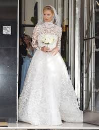 valentino wedding dresses pics nicky s wedding dress see the stunning s look