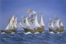 august 3 1492 from the spanish port of palos italian explorer