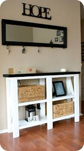 Entry Way Table Decorating by 159 Best Entryway U0026 Mudroom Ideas Images On Pinterest Center
