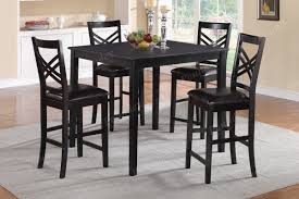 Tall Dining Room Sets by Black Counter Height Dining Room Sets Bar Height Dining Roomes