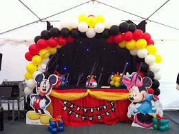 mickey mouse party decorations mickey mouse birthday party ideas bounce house rentals in miami