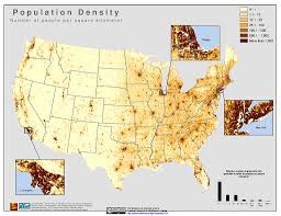 map usa states los angeles us and canada population map canada population density map states