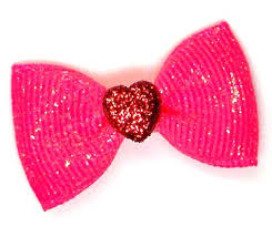 bow for hair sugar pink dog hair bow 14 99 four paws place