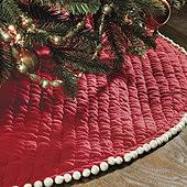 plaid tree skirt monogrammed christmas tree skirts ballard designs