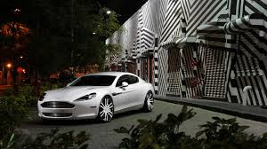 custom aston martin rapide dub magazine aston martin rapide on savini wheels
