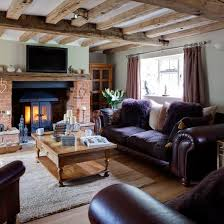 Country Living Room Decorating Ideas Purple And Wood Country Living Room Living Room Country Country