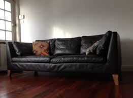 Stockholm Leather Sofa Ikea Stockholm Three Seat Sofa Leather For Sale In Killester