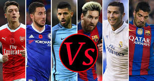 la liga premier league table la liga xi vs premier league xi football manager 2017 reveals which