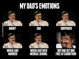 Angry Dad Meme - my dad s emotions image dubai memes