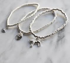silver bracelet with charm images 4mm sterling silver bracelet with charms love above jpg