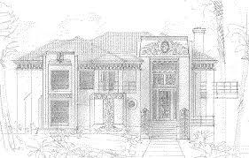 Art Deco House Designs House Plans Art Deco House Plans