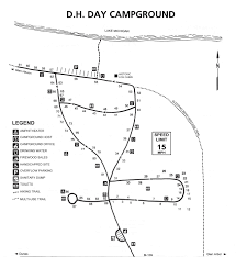 Map Of Oxford Ohio by D H Day Campground Map Sleeping Bear Dunes National Lakeshore