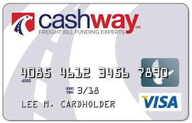 free reloadable debit card cashway prepaid visa card cashway funding