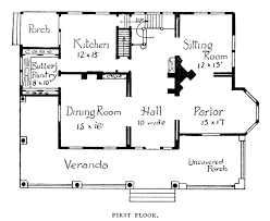 Historic Victorian House Plans Category Floor Plan 2 Corglife