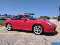 porsche carrera red 2002 porsche 911 c4s in guards red