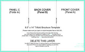 4 panel brochure template new tri fold brochure template word josh hutcherson