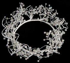 jim marvin collection jeweled beaded candle wreath votive wedding