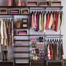 Container Store Shelves by Freestanding Closet Walnut U0026 Platinum Elfa Décor Freestanding