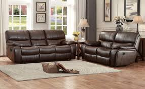 Reclining Sofa And Loveseat Set 2 Pc Homelegance Pecos Collection Leather Gel Reclining Sofa