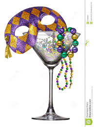 martini purple new orleans mardi gras martini glass stock image image 54569967