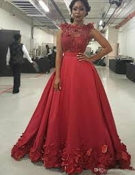 2017 gorgeous red sheer applique beads prom dresses sleeveless a