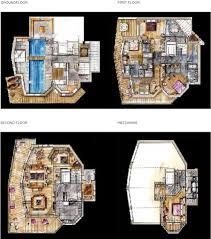 Chalet Floor Plans by Chalet Karakoram In Courchevel 1850 By Skiboutique