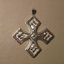 sterling silver limited edition reed barton 1981 cross