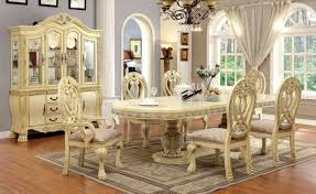 versailles dining room 112 versailles antique white formal dining table set