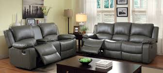 leather sofas motion upholstery gray leatherette sofa