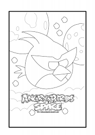 angry birds space coloring coloring page for kids kids coloring