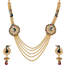 golden necklace designs images Gold necklace design the right piece of jewellery anextweb jpg