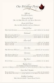wedding program exles wedding ceremony wording exles 100 images ideas wedding