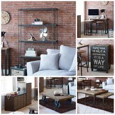 spitalfields industrial rustic living room furniture collection contemporary rustic industrial furniture