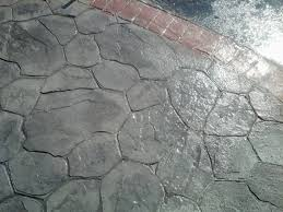 Average Price For Stamped Concrete Patio by Stamped Concrete Patio Driveways Above Average Concrete