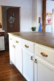 do it yourself kitchen islands my do it yourself kitchen island with concrete countertops