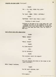 discovering chaplin a portion of the original dialogue script for