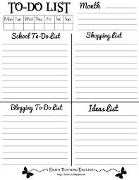 enjoy teaching english to do list printable