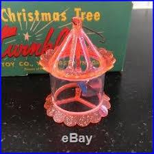 vintage tree twinkler birdcage spinner ornaments