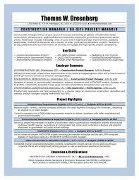 Sample Of A Cover Letter For Resume by Best 25 Project Manager Resume Ideas On Pinterest Project