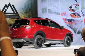 toyota rav4 v6 towing capacity 2018 toyota rav4 adventure release date and towing specs