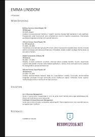 Best Format For Resumes by Resume Format 2017 20 Free Word Templates U2022
