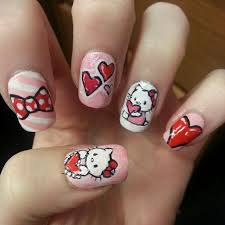 1000 images about hello kitty nail art on pinterest nail art