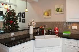 Kitchen Corner Sinks Stainless Steel by Stainless Steel Corner Sink Installed In The Kitchen With Black