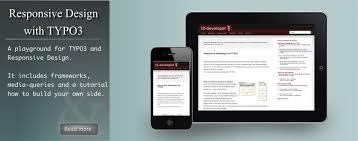 responsive design typo3 responsive design