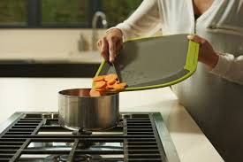 Cooking Board by Tilt Angled Non Slip Chopping Board üutensil
