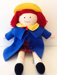 madeline doll 15 dressable plush 1994 retired